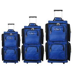 Geoffrey Beene 3-piece Vertical Duffel Luggage Set