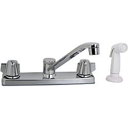 Price Pfister Polished Chrome Kitchen Faucet with Side Spray