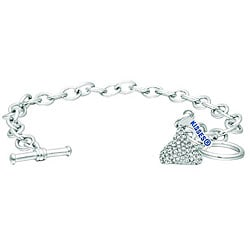 Base Metal Hershey's Kiss Bracelet