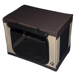 "Pet Gear 30"" Travel-Lite Portable Soft Pet Crate"