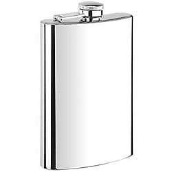 Stainless Steel 8-oz Hip Flask