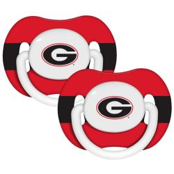 Georgia Bulldogs Pacifiers (Pack of 2) 7623932
