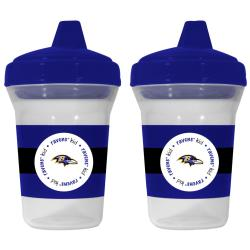 Baltimore Ravens Sippy Cups (Pack of 2)