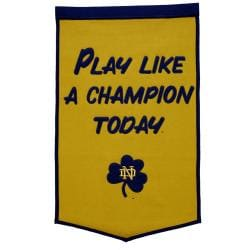 Notre Dame Fighting Irish NCAA PLACT Banner 7624463