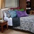 Zebra 2-piece Twin-size Mini Comforter Set