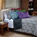 Zebra 3-piece King-size Mini Comforter Set