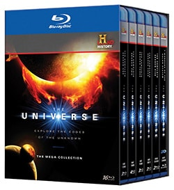 The Universe: The Complete Series Megaset (Blu-ray Disc) 7630412