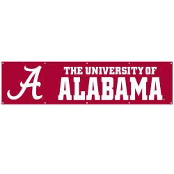 Alabama Crimson Tide 8-foot Nylon Banner 7631428