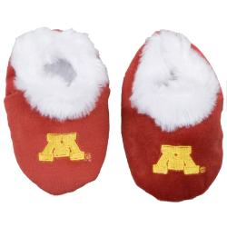 Minnesota Golden Gophers Baby Bootie Slippers