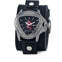 Nemesis Men's Red Dragon Triangle Watch
