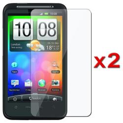 INSTEN Clear Screen Protector for HTC Desire HD/ Ace (Pack of 2)