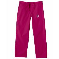 Gelscrub Unisex Crimson Indiana Hoosier Scrub Pants