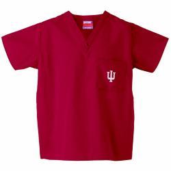 Gelscrub Unisex Crimson Indiana Hoosiers Scrub Top