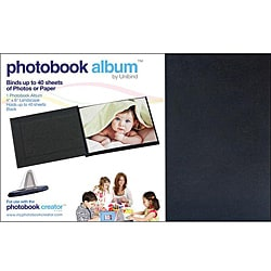 Unibind Black Photo Book Album