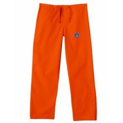 Gelscrub Unisex Orange Auburn Tiger Scrub Pants