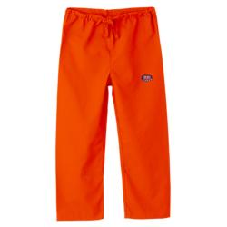Gelscrub Unisex Orange Auburn Tiger Logo Scrub Pants