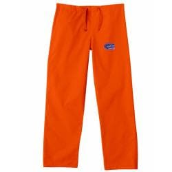 Gelscrub Unisex Orange Florida Gator Scrub Pants