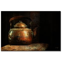 Lois Bryan 'Put the Kettle On' Canvas Art