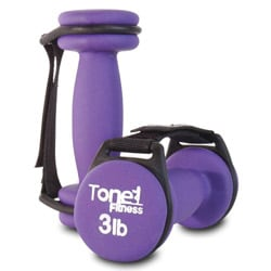 Tone Fitness Pair of 3-pound Walking Dumbbells