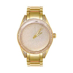 Joe Rodeo Women's Goldplated Stainless Steel Diamond Watch 7668625