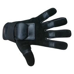 MBS Small Full Finger Black Hillbilly Wrist Guard Gloves