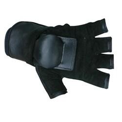 MBS Extra Large Half-finger Black Hillbilly Wrist Guard Gloves