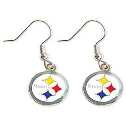 Pittsburgh Steelers Dangle Logo Earring Set 7683482