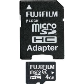 Fujifilm 600008953 4 GB microSD High Capacity (microSDHC)