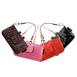 PossePouch iPhone/ Blackberry/ Digital Camera Croc Large Handbag