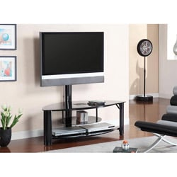Furniture of America Brax TV Console with Mount Bracket