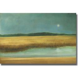 Caroline Gold 'Harvest Moon' Canvas Art 7704564