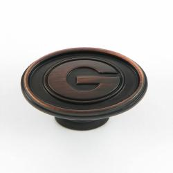 University of Georgia Bulldogs Oil Rubbed Bronze Cabinet Knobs (Pack of 2) 7708403