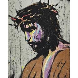 David Garibaldi Jesus Savior Gallery-wrapped Canvas Art