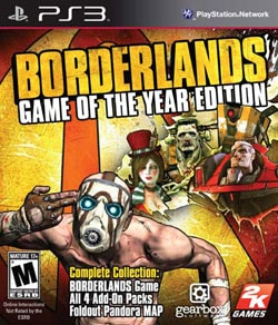 PS3 - Borderlands GotA Edition 7719185