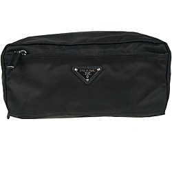 Prada Black Nylon Toiletry Case