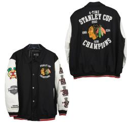 Chicago Blackhawks Stanley Cup Champions Commemorative Varsity Jacket 7734345