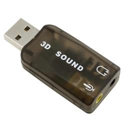 INSTEN USB to Headset/ Microphone PC Sound Card Adapter