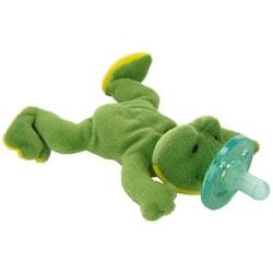 WubbaNub Green Frog Infant Pacifier