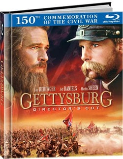 Gettysburg: Director's Cut DigiBook (Blu-ray Disc) 7756655
