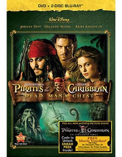Pirates of the Caribbean: Dead Man's Chest (Blu-ray/DVD) 7762188