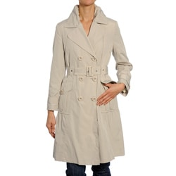 Nuage Petite Belted Trench Coat