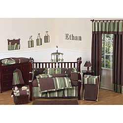 Sweet Jojo Designs Ethan 9-piece Crib Bedding Set