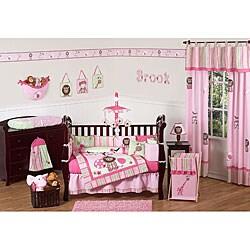 Jungle Friends 9-piece Crib Bedding Set