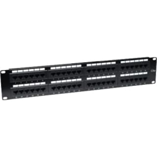 Intellinet Cat5e UTP 48-Port Patch Panel, 2U