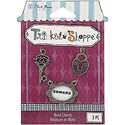 Blue Moon Trinket Shoppe Victorian 1 Charms (Pack of 3)