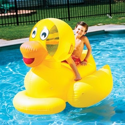 Swim Time Giant Ducky Water Toy