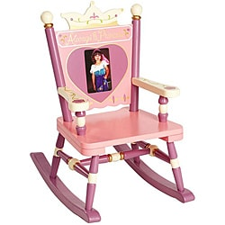 Levels Of Discovery 'Always a Princess' Mini Rocker Chair