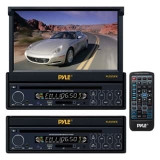 "Pyle PLTS73FX Car DVD Player - 7"" Touchscreen LCD - 16:9 - 320 W RMS"