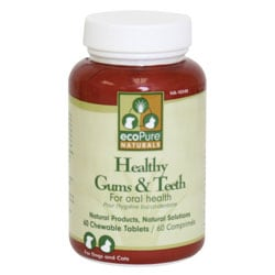 ecoPure Naturals Healthy Gums and Teeth Supplement