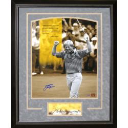 Steiner Sports Jack Nicklaus 'Achievement' Grey Framed 16x20 Photo